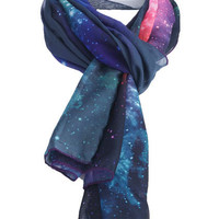 ROMWE | Galaxy Print Scarf, The Latest Street Fashion