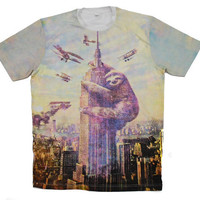 Sloth, Empire State Building, Slothzilla, Men&#x27;s Tee, Sloth shirt, Available S M L XL 2XL
