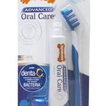Oral Care Dog Dental Kit w/ Brush