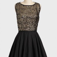 midnight kiss sequined dress at ShopRuche.com