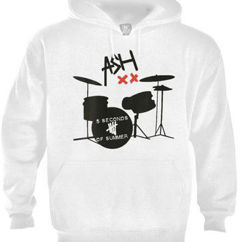 ASH ,ashton irwin ,5 second of summer, 5sos band rock music Hoodie