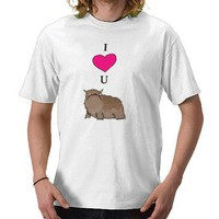 I (heart) You Alot T Shirts from Zazzle.com