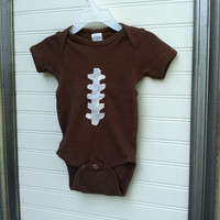 Baby Boy Football Onesuit- Game Day attire-  newborn to 24 months