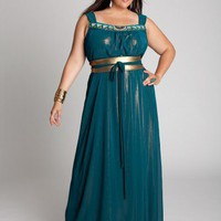 Plus Size Augustina Maxi Dress by IGIGI