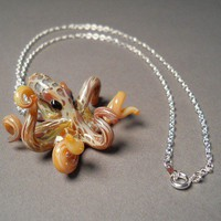 Octopus Jewelry Focal Bead Pendant