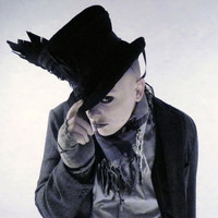 Sir Rook Mad Hatter Undertaker Mourning Top Hat