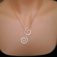 Spiral Necklace, special meaning, Silver/Gold, relationship necklace, birthday gift, best friend gift, bridesmaid gifts
