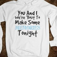 Memories Tonight Hoodie - Music Mad