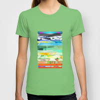 COLLAGE LOVE - a Princess and a pea  T-shirt by Gréta Thórsdóttir | Society6