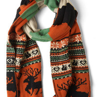 Let&#x27;s Be Fair Isle Scarf | Mod Retro Vintage Scarves | ModCloth.com