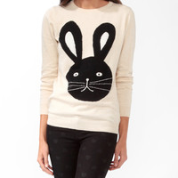 Bunny Graphic Sweater