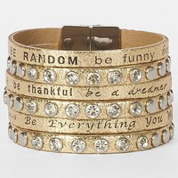 Good Work(s) Be Happy Come Together Bracelet - Women's Accessories | Buckle