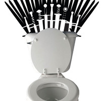Game of Thrones Inspired Toilet Decal