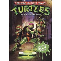 Teenage Mutant Ninja Turtles Film Collection (4 Discs) (With 4 Masks/Travel Case) (Special Edition)