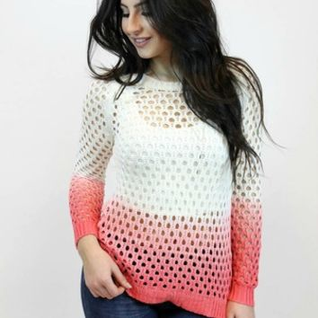 Strawberry Dipped Sweater | Paper Crane