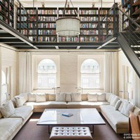A spectacular duplex in Tribeca, New York - Blog decoration - Interior Decoration | Interior Design | Blog decoration | Nordic Style - Delikatissen
