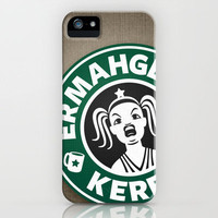 Ermahgerd, Kerfer! iPhone Case by Powerpig | Society6