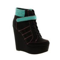 ASOS AMPLIFY Wedge Ankle Boots at asos.com