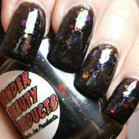 Spellbound - Halloween Nail Polish - Black Magic - Full Size Bottle
