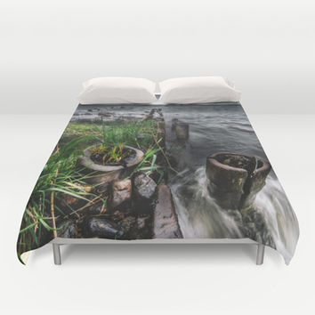 The flood Duvet Cover by HappyMelvin
