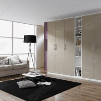 Rauch Furniture - Rauch Furniture Modena Single Door Combi Wardrobe with Mirror Front