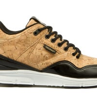 Womens The 35 Lite Cork LX: Gold Cork/Black | Gourmet Footwear