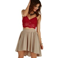 Red Love At First Sight Bustier Top