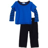 Splendid Littles Baby-Boys Infant Venice Thermal Stripe Pant Set $40.80 - $68.00