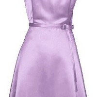 50`s Strapless Satin Formal Bridesmaid Prom Dress Holiday Gown $52.99