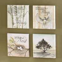 Canvas Prints, Family, Set of 4 from Through the Country Door