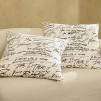 Pillow, Words of Wisdom from Through the Country Door