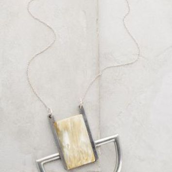 Sudeste Geo Pendant Necklace by Indego Africa Silver One Size Necklaces
