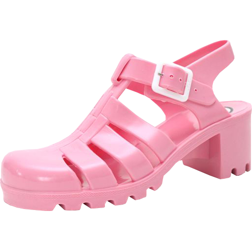 pre order pink jelly sandals from inu inu