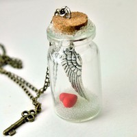 My Heart Belongs to You Message in a Bottle by DIVINEsweetness