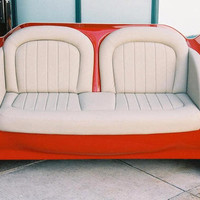 Car Seat Sofa : Game Room, Home Theater, Retro, Hot Rod