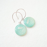 Litttle Cloud Mint Earrings