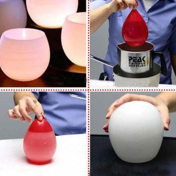 DIY / Dollar Store Crafts ? Blog Archive ? Make Water Balloon Candle Holders