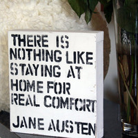 There is Nothing Like Staying at Home  Jane by FromMyBookShelf