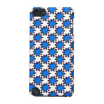 Blue Stars iPod Touch Case