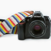 Zigzag Camera Strap
