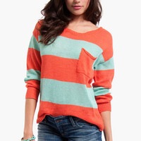 Jenga Striped Sweater $68