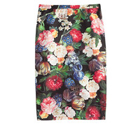 J.Crew Womens Collection Dutch Floral Pencil Skirt