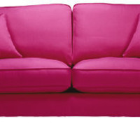 Florence medium-sofa in Vogue Hot-pink - Sofa Workshop