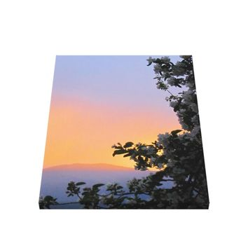 Sunset Wrapped Canvas