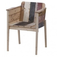 Bucketseat in Scrapwood - Office + Storage