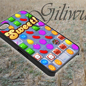 sweet candy crush game design for smart phone case made by gliiwur