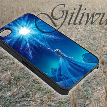 elsa disney frozen design for smart phone case made by gliiwur
