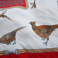 Vintage Pleasant Pheasant 1980s Italian by GodSaveStrawberryJam