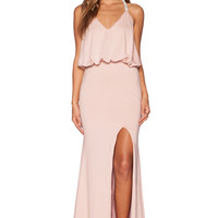 Toby Heart Ginger x Love Indie Jewel T-Back Dress in Blush