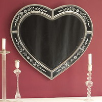 Classic Heart Mirror